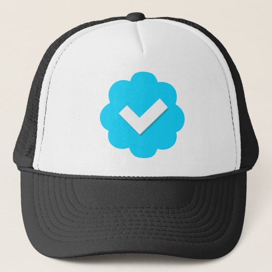 f735bc5aef2 Twitter Verified Badge Trucker Hat