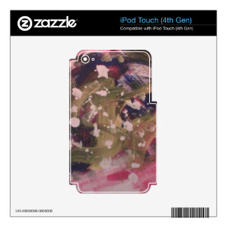 Twitteraac32bf iPod Touch 4G Skins