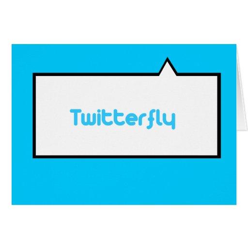 Twitterfly Tarjeta De Felicitación