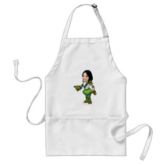Twitterpate Mystery Island Staff Player Adult Apron