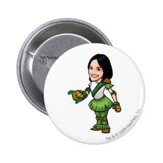 Twitterpate Mystery Island Staff Player Pinback Button
