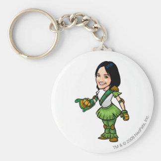 Twitterpate Mystery Island Staff Player Keychain