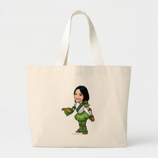 Twitterpate Mystery Island Staff Player Large Tote Bag