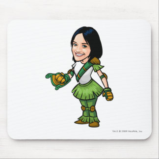 Twitterpate Mystery Island Staff Player Mouse Pad