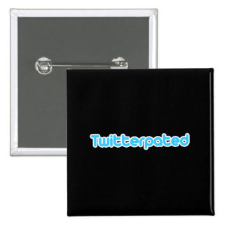 Twitterpated Pinback Button