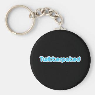 Twitterpated Keychain
