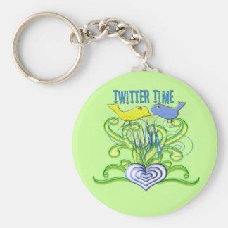 TwitterTime Keychain
