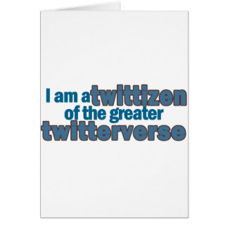 Twitterverse Twittizen Card