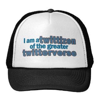 Twitterverse Twittizen Trucker Hat