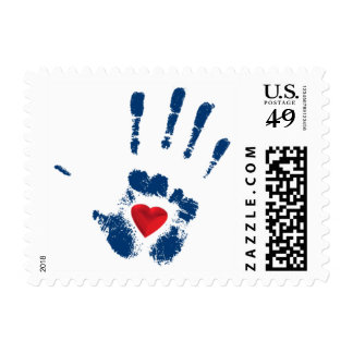 TWLG Heart Hand Small Stamp