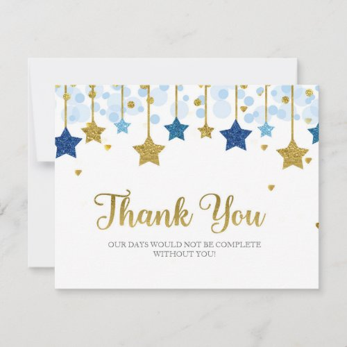 Twnikle Twinkle Little Star Thank You Card