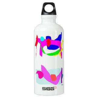 Two 2 SIGG traveler 0.6L water bottle