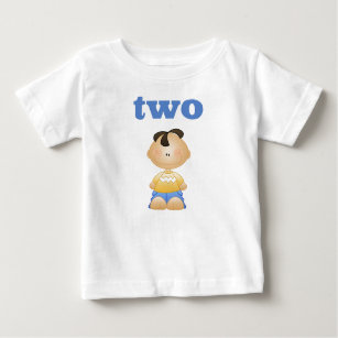 Two 2 Year Old Boy Second Birthday T Shirt