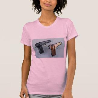 Two .45 caliber automatic guns for gun lovers shirt