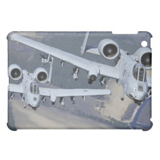 Two A-10C Thunderbolt II aircraft fly in format iPad Mini Case