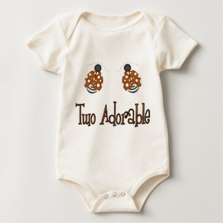Two Adorable Baby Bodysuit