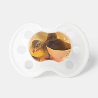 Two Adorable Ducklings Pacifier