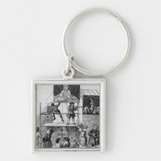 Two Adverts Relating to Faux, the Conjurer Keychain