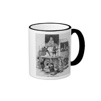 Two Adverts Relating to Faux, the Conjurer Ringer Mug