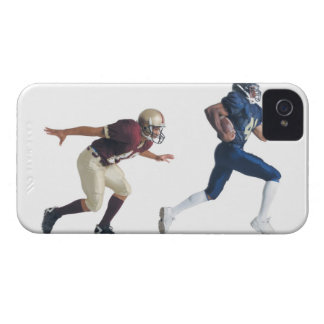 two african american american football players iPhone 4 cover