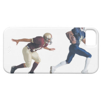 two african american american football players iPhone SE/5/5s case