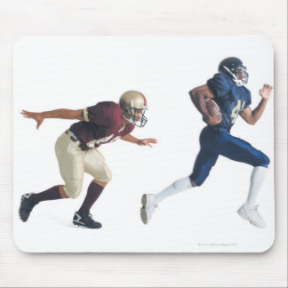 two african american american football players mouse pad