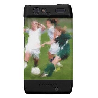 Two Against One Soccer Battle Motorola Droid RAZR Covers