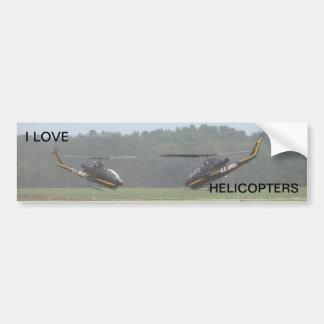 Two AH-1 Cobra Gunships. Bumper Sticker