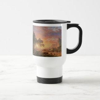 Two Albert Bierstadt Western Paintings 15 Oz Stainless Steel Travel Mug