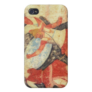 Two Amazons in combat with a Greek Covers For iPhone 4