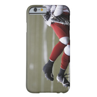 Two American football players lying on field, Barely There iPhone 6 Case