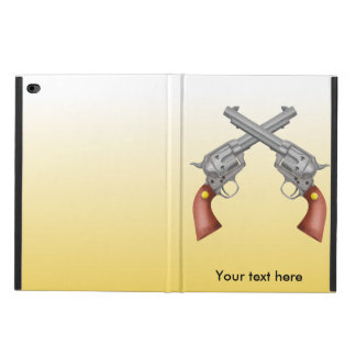 Two American Old West Pistols Crossed Powis iPad Air 2 Case