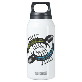 Two Amusing fantasy beastys Insulated Water Bottle