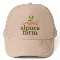 Two Angels Alpaca Farm Trucker Hat