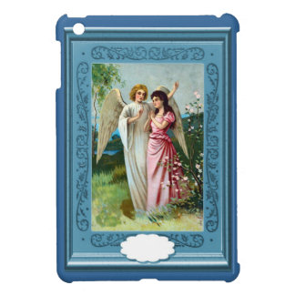 Two angels in the garden case for the iPad mini