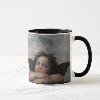 Two Angels, Raphael Vintage Fine Art Mug