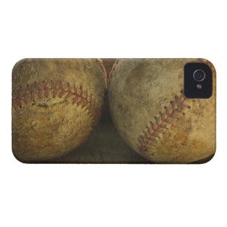 Two antique baseballs iPhone 4 Case-Mate case