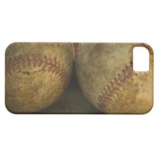 Two antique baseballs iPhone SE/5/5s case
