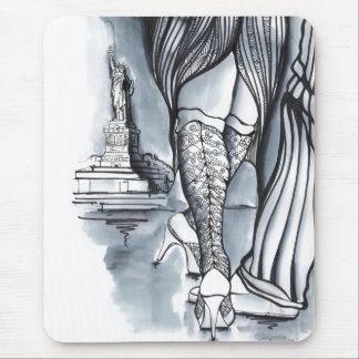 Two Argentiniens in New York Tango Mouse Pad