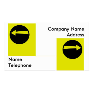 Two Arrow Signs Business Card