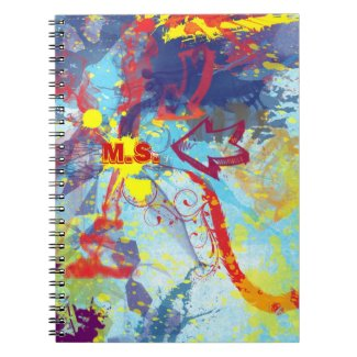 Two Arrows Personalized Notebook