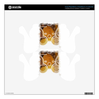 Two autumn leaves PS3 controller decal