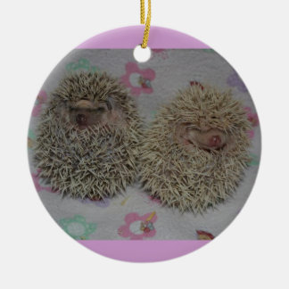 Two babies ornament