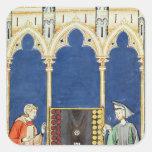 Two Backgammon Players Sticker