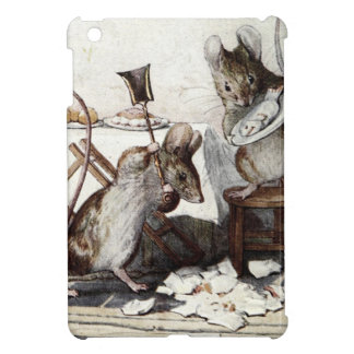 Two Bad Mice Smash the Dishes Case For The iPad Mini