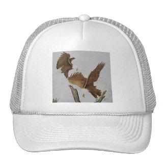 Two Bald Eagles in Flight Trucker Hat