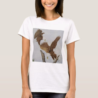 Two Bald Eagles in Flight T-Shirt
