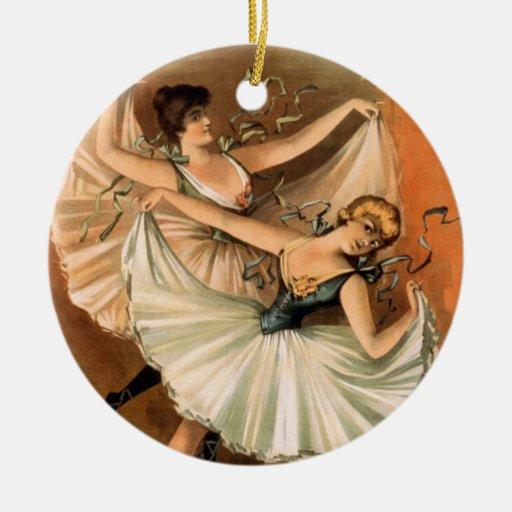 Two Ballerinas ornament
