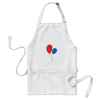 Two Ballons Adult Apron
