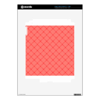 Two Bands Small Diamond - Red1 iPad 2 Skins